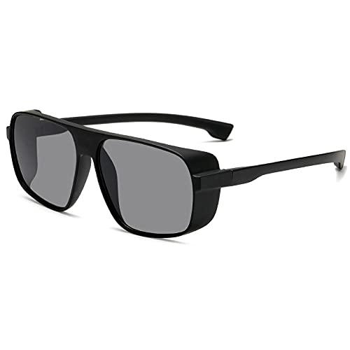 XXBFDT Golf/conducción/pesca/viaje Gafas - Vidrios de vapor de marco grande de moda-1