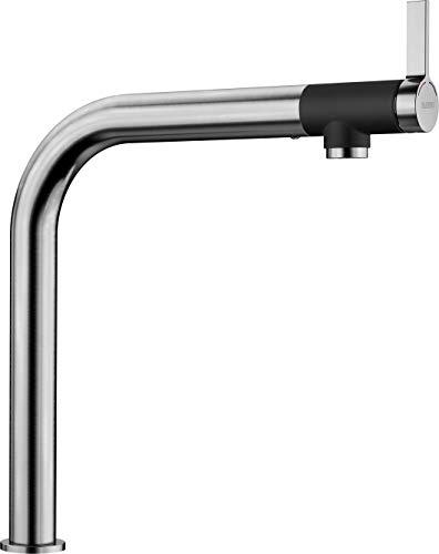 Blanco Vonda, Design-Küchenarmatur mit Frontsteuerung, Edelstahl gebürstet, Hochdruck, 1 Stück; 518435