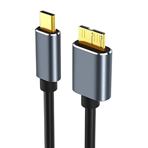 Cable USB C Micro B Cable USB3.0 macho a macho Cable de...