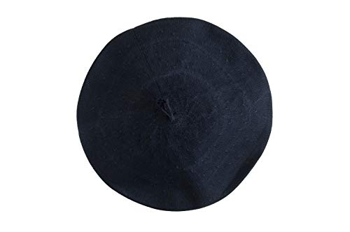 Unisex Beret Gaucho hat Traditional hat from Argentina (Blue)