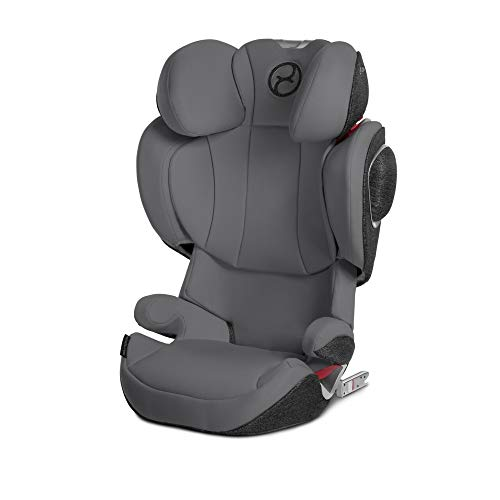 Cybex Solution Z-fix Booster Seat in Manhattan Grey Massachusetts
