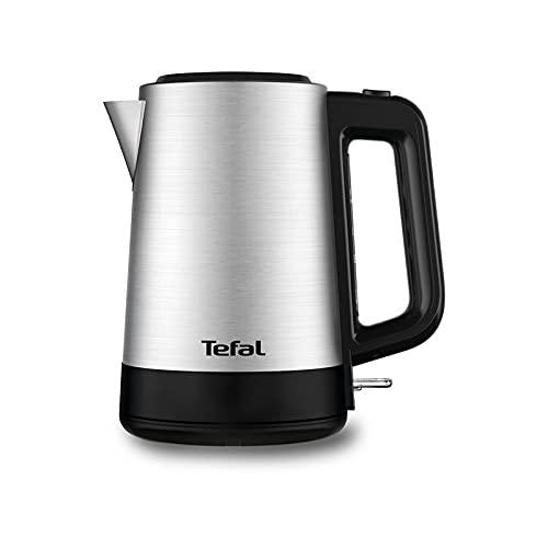 Tetera Tefal Equinox BI520D10 2200 W, color plateado y negro