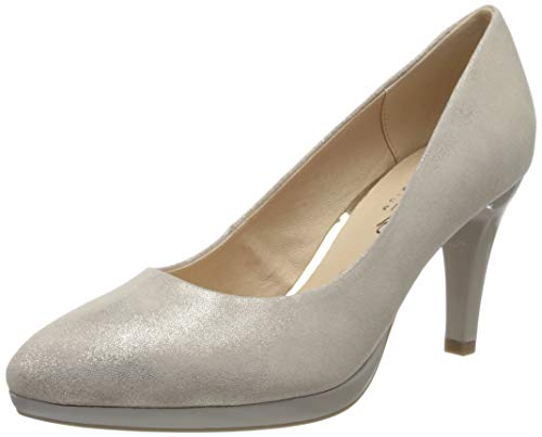 Caprice Damen ASHLEY Pumps, Pink (Rose Foil Suede 540), 41 EU