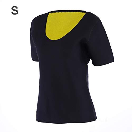 Sauna shirt neopreen fitness afslanken sauna pak hot sweat shirt voor vrouwen Fatburner