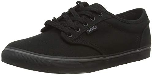 Vans Atwood Low Canvas Womens Shoes, Color: (Canvas) Black/Black ...