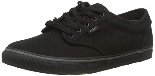 Vans ATWOOD LOW Damen Sneakers, Schwarz ((Canvas) Black/ 186), 37 EU