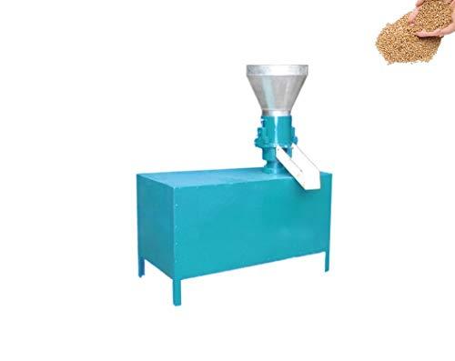 TX® Molino Manual de pellets Prensa peletizadora de Alimentación Animal de la máquina de pellets de Madera Molino de pellets de biomasa Hay un molde (220V/50HZ, with motor)