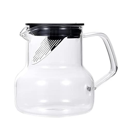 Ekspres do kawy na zimno, hermetyczny dzbanek do mrożonej kawy dzbanek do herbaty zaparzacz zaparzacz do kawy mrożonej na zimno herbatę hermetyczne wieczko
