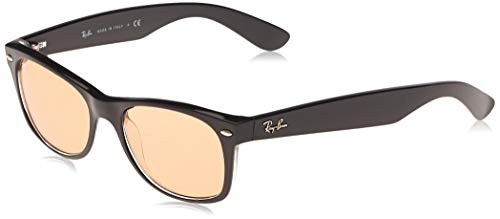 Ray-Ban 63983L Gafas de sol, Black/Transparente, 54 para Hombre