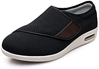 Sponsored Ad - youyun Diabetic Shoes for Elderly Velcro Wide for Women Walking Shoes Adjustable Closure Breathable Lightwe...
