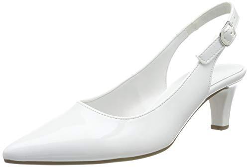 Gabor Shoes Damen Fashion Pumps, Weiß (Weiss (+Absatz) 71), 38.5 EU