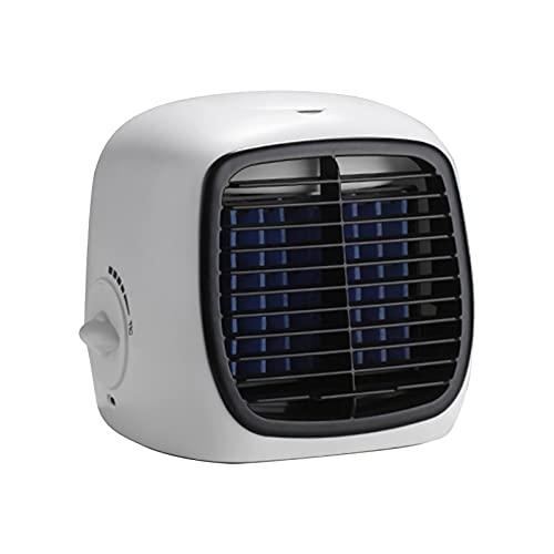 Bagalqio Mini Aire Acondicionado portátil USB, humidificador, purificador, Aire Acondicionado Móvil, Mini Aire Acondicionado Portátil, Enfriador de Aire de Purificación de Aire, para Oficina Valuable