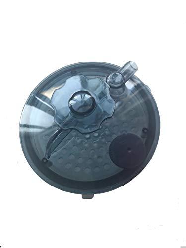 ZONEMEL Sauna-Dämpfer-Abdeckung, Dampfgenerator-Zubehör-Deckel (blau)