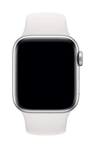 Apple Watch (40mm) Sportarmband, Weiß - S/M und M/L