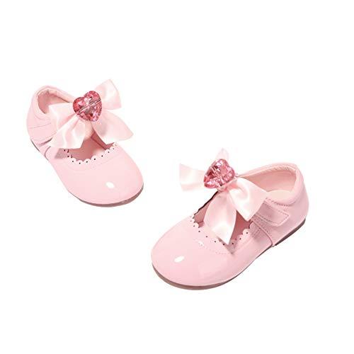 Zapatos de Cuero de Princesa para niñas cómodos Zapatos de Suela Suave...