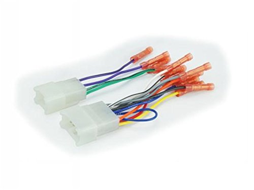 Scosche TA02BCB Compatible with Select 1984-17 Toyota Power/Speaker Connectors / Wire Harness for Aftermarket Stereo Installation with Color Coded Wires and Pre-installed Wire Connectors