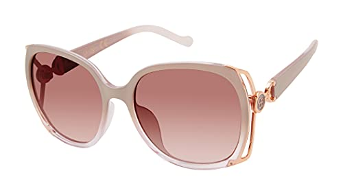 Jessica Simpson J5686 Iconic UV Protective Women's Square Sunglasses. Glam Gifts for Women, 60 mm