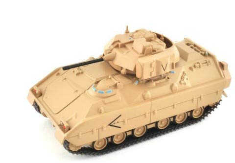 M2 Bredley Panzer Schütenpanzer 9cm Panzermodell, für die Vitrine Panzer oder zum spielen | Spielzeug | Tank | Sammlerstück | Kampffahrzeug