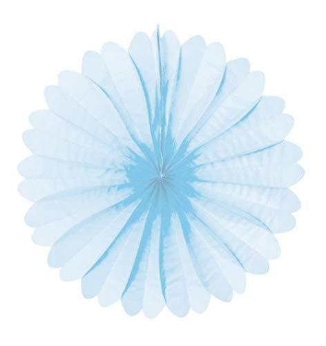 Decoración Papel Abanico de Papel de Seda de Color Azul Muy Muy...