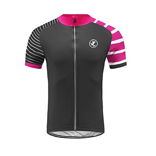 Uglyfrog HIZD34 Vestiti Ciclismo Magliette Jersey Maglia Ciclismo Breve,Maglietta Bicicleta,Camicie Ciclismo per Uomo