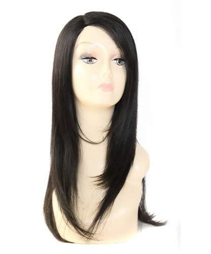 Riri – Superbe L supplémentaire à la main Tied Long Perruque de cheveux humains