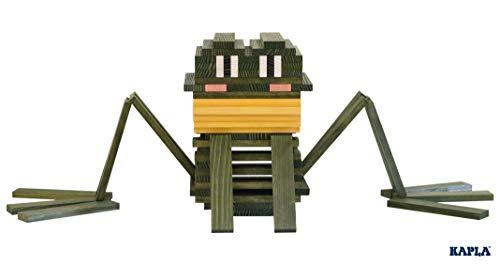 KAPLA OCTOCOLOR, 100 Holzplättchen, 8 verschiedene Farben - 5