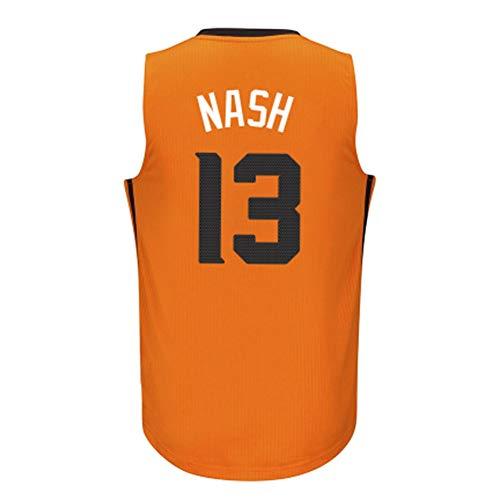 GEXING Steve Nash # 13 Jersey di Pallacanestro Maschile, 2020 all-Star Senza Maniche Ricamato Mesh Swingman Jersey (Color : P, Size : XL)