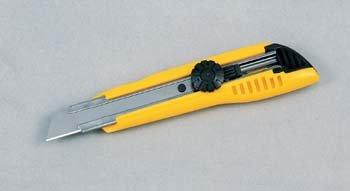 Tajima LC501YB Cutter 18 mm avec blocage par molette, Jaune