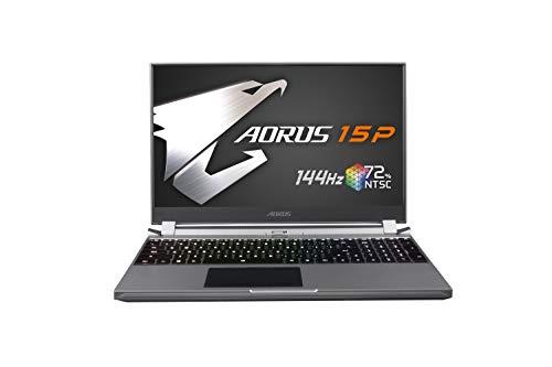 AORUS 15P (WB) Thin and Light Performance Gaming Laptop, 15.6-inch FHD 144Hz IPS, GeForce RTX 2070 MAX-Q, 10th Gen Intel i7-10750H, 16GB DDR4, 512GB NVMe SSD (AORUS 15P WB-7US1130SH)