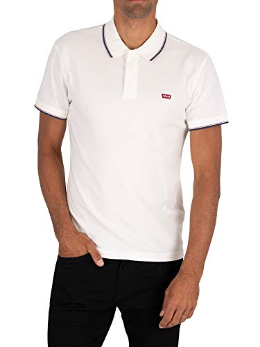 Levi's Original Batwing Camiseta, White (Hm Patch Polo White + 0000), X-Large para Hombre