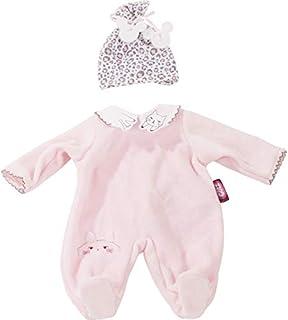 Götz 3402924 Babykombi Animals - Puppenbekleidung Gr. M - 2-teiliges Bekleidungs- und Zubehörset für Babypuppen von 42 - 46 cm