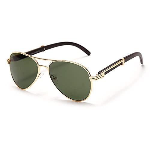 ShZyywrl Gafas De Sol De Moda Unisex Gafas De Sol De Piloto Clásicas Hombres Mujeres Marcos De Metal Gafas De Sol De Conducción Gafas Uv400 5