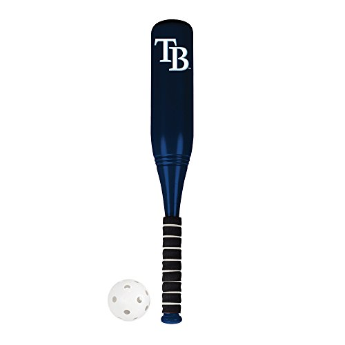 Franklin Sports Tampa Bay Rays Jumbo Plastic Bat & Ball Set - 24