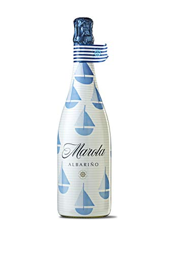 MAROLA Vino espumoso 100% albariño - Pack 6 botellas x 75 cl