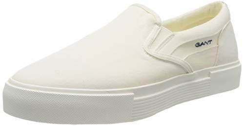GANT Footwear Herren CHAMPROYAL Slipper, Weiß (Off White G20), 44 EU