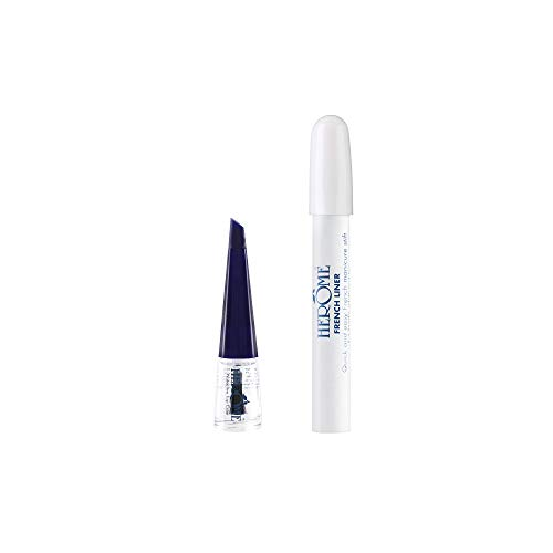 Herôme Cosmetics Herome french liner mit mini top coat 4ml. - 1st. - manikürestift.perfekte french-manicure-rand.