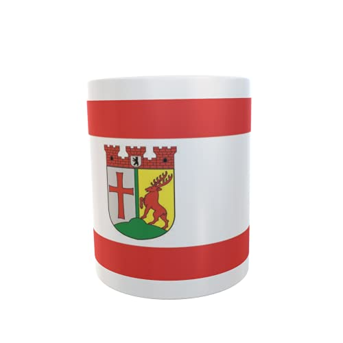 U24 Tasse Kaffeebecher Mug Cup Flagge Berlin Tempelhof-Schöneberg