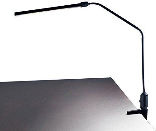 Lavish Home Contemporary Clamp LED Desk Lamp, Black (41')