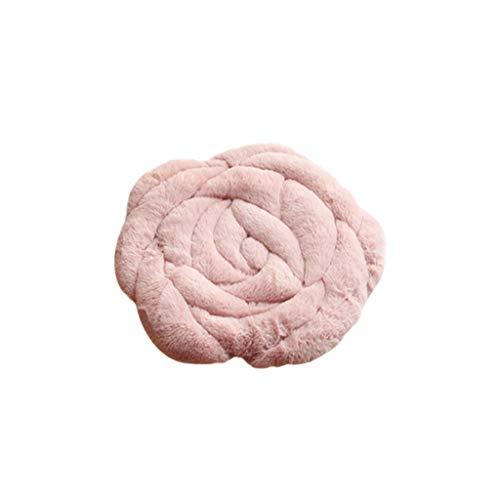 Rose Flower kussen bureaustoel kussen de herfst en winter van tatami zachte gewatteerde zitkussen vloermat