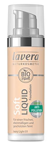 Base de maquillaje líquida natural de Lavera