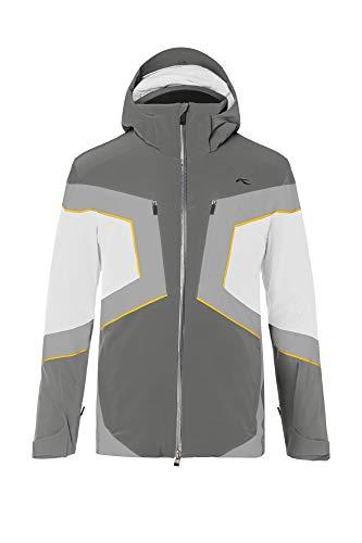 KJUS Men Speed Reader Jacket Grau, Herren Dermizax™ Isolationsjacke, Größe 50 - Farbe Dark Dust - White