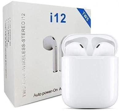 Fone Earphone com Touch Atendimento Bluetooth 5.0 i12 Tws [Sky Dreams]