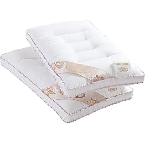LYUN Almohada para niños Almohadas de Almohadas de Almohada de algodón de 3 a 6 años Paquete de Almohadas de Almohada de algodón 2
