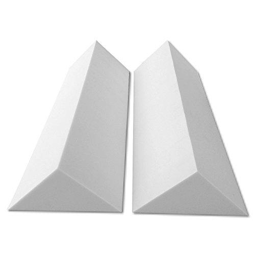 2 Bass Trap Eckabsorber Basotect ® G+ je 24x24x100 cm HiFi Akustik Elemente