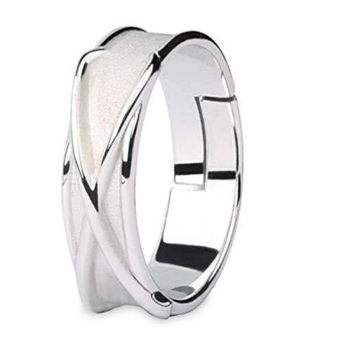 Adjustable Time Ring Dragon Ball Z Cosplay Super Zamasu Silver Goku Time Ring (White, One Size)
