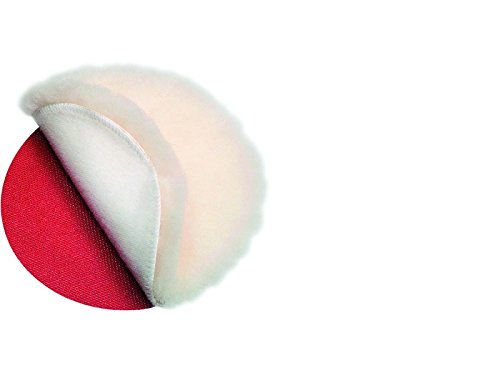Fein 63723009004 Lammfell, Rot, Weiß