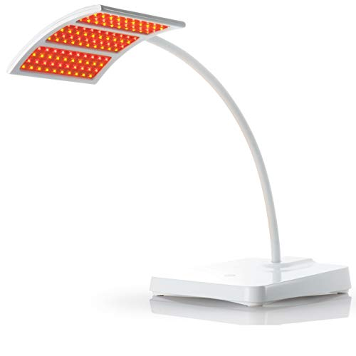 Trophy Skin RejuvaliteMD Red Light Therapy Lamp - FDA-Cleared Infrared Light Therapy Treats Wrinkles, Age Spots, and Sun Damage for Clinically-Proven Results on Face, Neck & Body