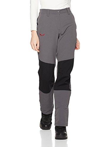 Salewa Puez Auckland DST W Reg - Pantalon pour Femme, Couleur Gris, Taille 48/42