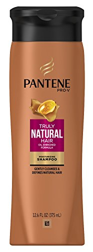 Pantene Truly Natural Shampoo 12.6 Ounce (375ml) (2 Pack)