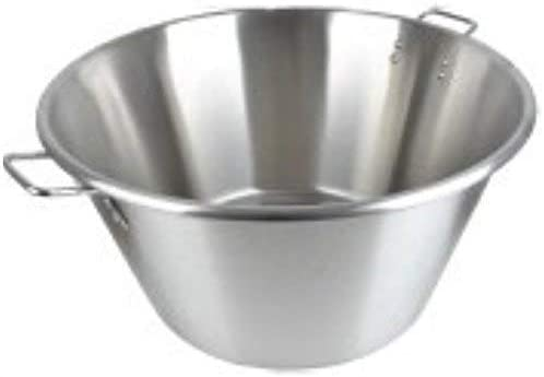 """wholesale Cazo Grande Para Carnitas Extra Large 17"""" inch Stainless Steel Heavy Duty Acero Inoxidable Wok popular comal popular Fry outlet sale"""